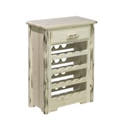 Montana Woodworks  Montana 16 Bottle Floor Wine Rack; Lacquered