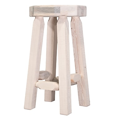 Montana Woodworks Homestead 30'' Bar Stool; Lacquered