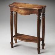 Butler Chatsworth Console Table; Dark Toffee
