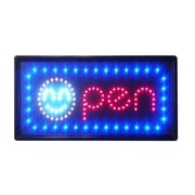 DSD Group Constructor Smiley Open Sign Light