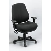 Eurotech Seating 24/7 Chair; Charcoal