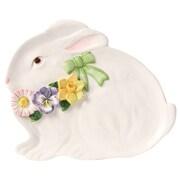 Kaldun & Bogle Spring Bunny Bows Divided Serving Dish