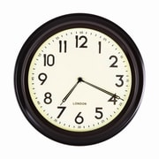 AdecoTrading 12'' Basic Round Large Numbers Office Kitchen Wall Hanging Clock