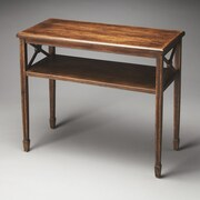 Butler Alcott Console Table; Dark Toffee
