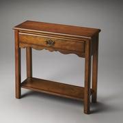 Butler Stratford Console Table; Olive Ash Burl