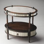 Butler Barrington Console Table; Mirrored Pecan