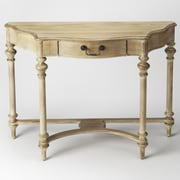 Butler Morency Console Table; Driftwood