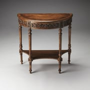 Butler Danelle Console Table; Dark Toffee