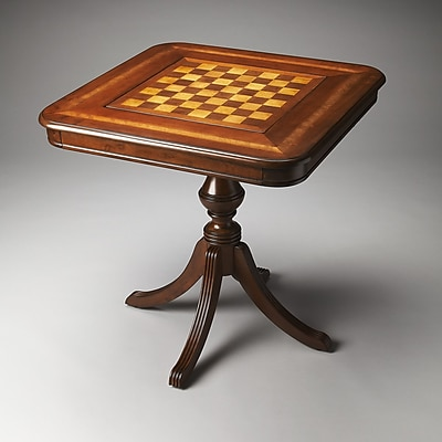 Butler 30'' Morphy Multi Game Table; Antique Cherry