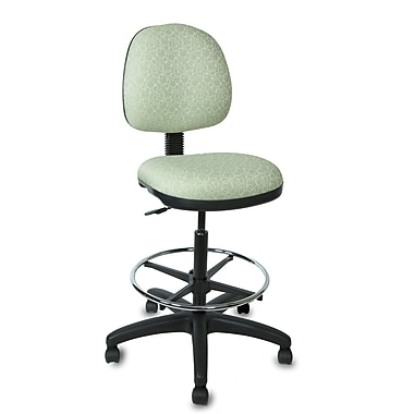 TrendSit Drafting Chair Muscat Champagne Print Staples