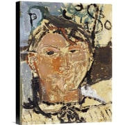 Global Gallery Portrait De Picasso by Amedeo Modigliani Painting Print on Wrapped Canvas