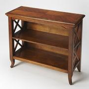 Butler Newport 30.25'' Standard Bookcase; Olive Ash Burl
