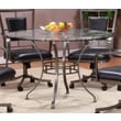Hillsdale Auckland Glass Round Dining Table Top