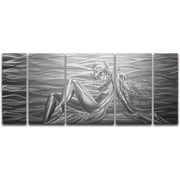 MetalArtscape Beauty by the Sea 5 Piece Metal Graphic Art Set