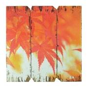 Fantastic Craft Fall Leaves 3 Piece Graphic Art Plaque Set