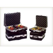 Chicago Case Foam-Filled Product Display and Instrument Case: 12'' H x 11'' W x 6'' D; 1'' Cube Foam