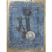 PENL Old-School Biz A Phone Call Graphic Art on Wrapped Canvas