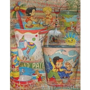 Graffitee Studios Rated G Kids Water Daily Wrapped Canvas Art