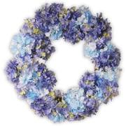 National Tree Co. 25'' Hydrangea Wreath