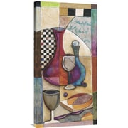 Global Gallery Cabernet by Jennifer Bonaventura Graphic Art on Wrapped Canvas
