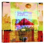 Global Gallery Santa Fe Church by Suzanne Silk Graphic Art on Wrapped Canvas