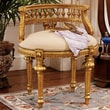 Design Toscano Mademoiselle Cezanne's French Slipper Chair