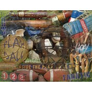 PENL Man Cave FANatic Sports Image Graphic Art on Wrapped Canvas