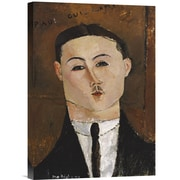 Global Gallery Portrait De Paul Guillaume by Amedeo Modigliani Painting Print on Wrapped Canvas
