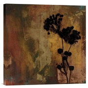 Global Gallery Sienna II by Shawn Farley Black Painting Print on Wrapped Canvas
