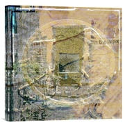 Global Gallery Coin Collage by Suzanne Silk Graphic Art on Wrapped Canvas