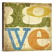 Global Gallery Love by Suzanna Anna Graphic Art on Wrapped Canvas