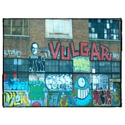 Graffitee Studios Art Kraft Strauss Graffiti Building Photographic Print on Wrapped Canvas