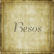 Graffitee Studios The ABCs of Love Besos (Kisses) Textual Art on Wrapped Canvas