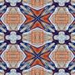 Graffitee Studios Kaliedagraf Modern Granada Graphic Art on Wrapped Canvas