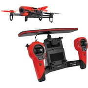 Parrot® BeBop Drone Quadcopter With Skycontroller Bundle, Red