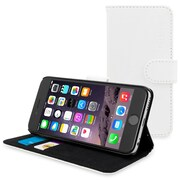 The Snugg Flip Case for iPhone 6, White