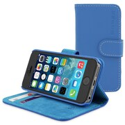 The Snugg Flip Case Cover for iPhone 5, Electric Blue