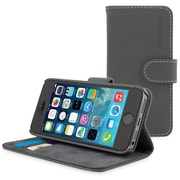 The Snugg Flip Case Cover for iPhone 5, Gray