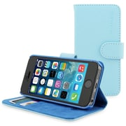The Snugg Flip Case Cover for iPhone 5, Baby Blue