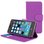The Snugg Flip Case Cover for iPhone 5, Purple