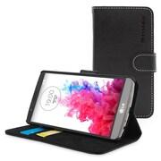 The Snugg Flip Case Cover for LG G3, Black