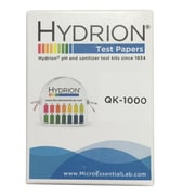 Micro Essential Lab Hydrion Double Roll Quaternary Check Test Paper 10/Pack (QK-1000PK)
