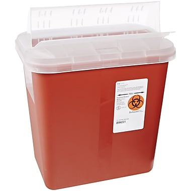 Kendall Healthcare Sharps Disposal Container, 8 Quart