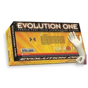 Micro flex Evolution One Latex Gloves, Large, 100/Pack