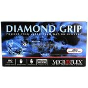 Micro flex Diamond Grip Large Latex Gloves