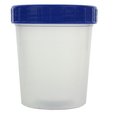 Stockwell Scientific Screw Cap Sample Cup, 133 ml, 500/Case 1602485