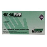 High Five Products Inc E-grip Latex Gloves, XL, 100/Pack