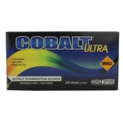 High Five Products Inc Nitrile Gloves, Cobalt, Ultra Small, 200/Pack