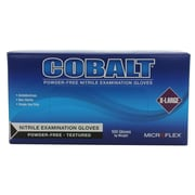 High Five Products Inc Nitrile Gloves, Cobalt, XL, 100/Pack