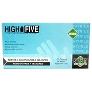 Conney Safety Products Industrial Nitrile Gloves, Medium, 100/Pack